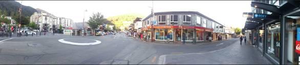 Pan 2 of Queenstown Main Street