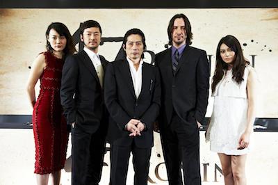 Rinko Kikuchi, Tadanobu Asano, Hiroyuki Sanada, Keanu Reeves, Kou Shibasaki